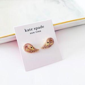 ❗️LAST ONE❗️Kate Spade Swan Stud Earrings